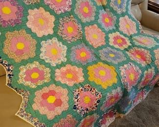 One of the finest antique handmade quilts I have ever sold