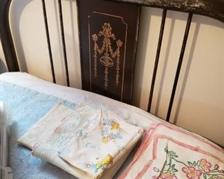 Antique Hospital Twin Bed