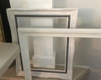 Painted Old frames
