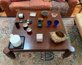 Baker - Coffee Table - 4 feet x 4 feet square