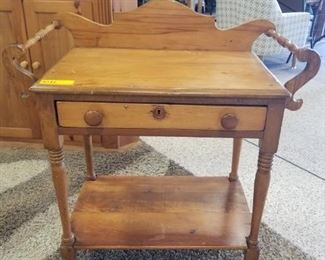 Walnut Wash Stand