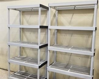 Plastic Shelves