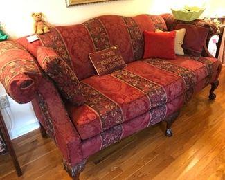 sofa, decorative pillows