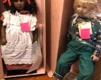 dolls by Anita Himstedt