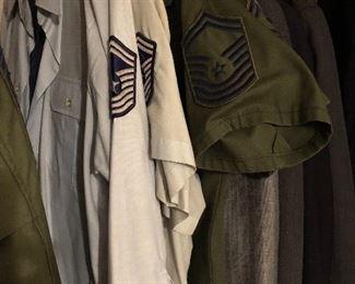 USAF military uniforms