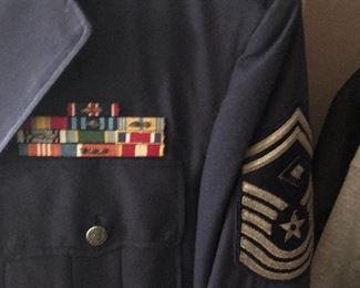 Air Force military uniforms