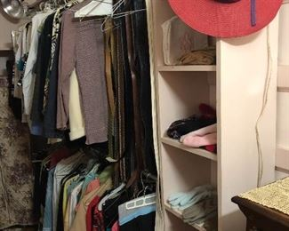 ladies clothing and leather belts (some Brighton)