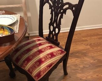 ornate side chair
