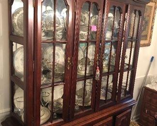 quality china cabinet/china hutch