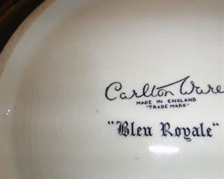 "Carlton Ware "" Blue Royale"""