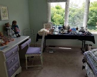 Girls Bedroom set, Purple