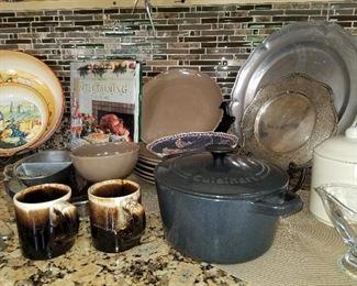 Cast Iron Pot, Cuisinart Dutch Oven