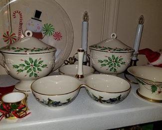 Lenox Holiday Dishes
