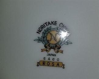 "Noritake China, ""Rosa"""