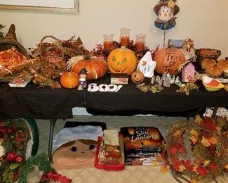 Fall Holiday Decor