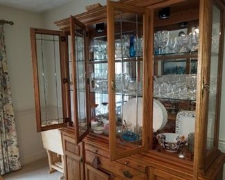 Packed China Cabinet