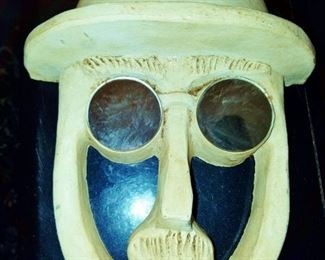 Bennington Pottery Face