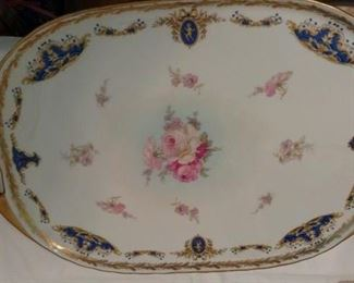 Beautiful Limoges Plater