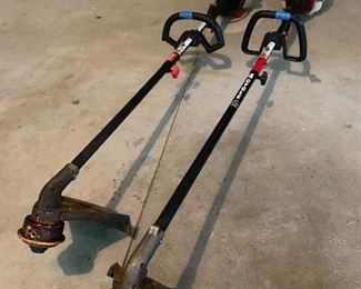 2 TROY-BILT GAS-POWERED TRIMMERS