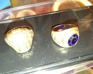 10K Gold H.S Class Rings