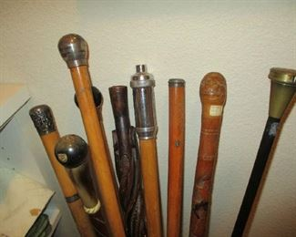 Part of cane collection