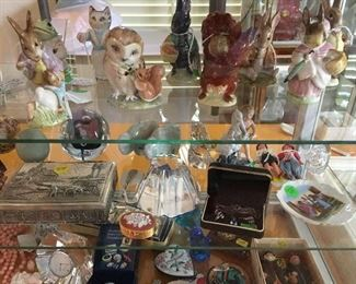 Beatrix Potter Beswick figurines and other collectibles