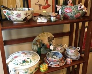 Another sampling of Asian décor items
