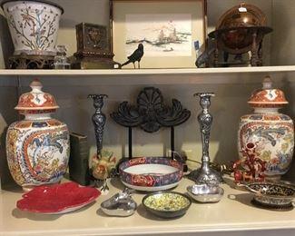 Asian décor items
