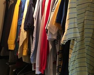 A sample of men's clothing