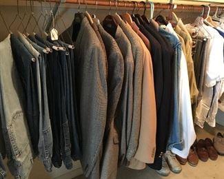More men's clothing