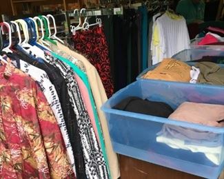 Some of the ladies clothing items