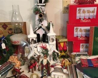 Holiday decor items