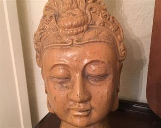 Lovely old Asian bust