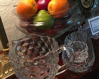Fostoria American glassware