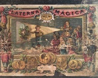 Box lid for Magic Lantern