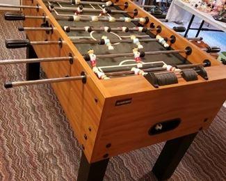Harvard Foosball table.