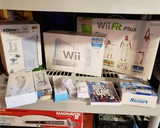 Wii, Wii fit and balance