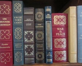 Some of leather bound classics
