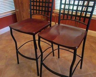 Heavy bar/counter stools