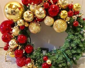 Jones Store Commercial Christmas Wreath