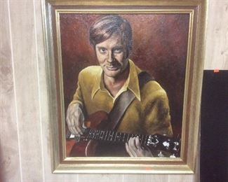 Oil painting of Dave