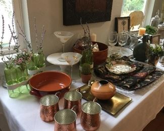 great decorator items and serving pieces