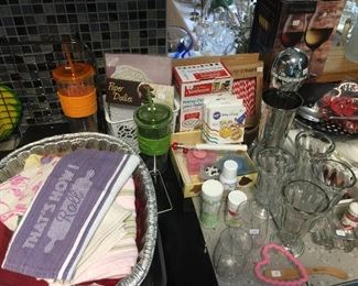 Cake decorating items, milk-shake maker!