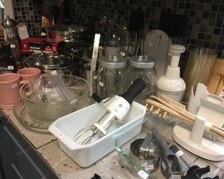 Kitchen full of gadgets