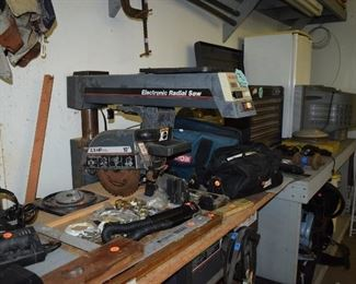 Electric Radial Saw