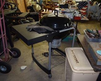 Weber Charcoal Grill, Moving Dolly, Tools, Garage Items