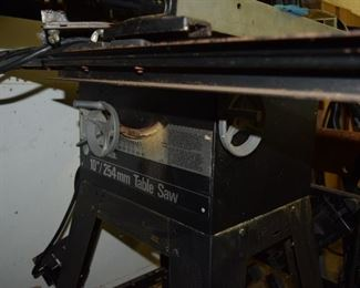 """10""""/254mm Table Saw"""