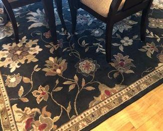 Pretty rug.
