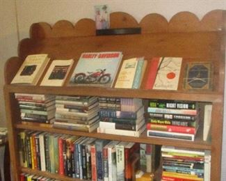 books (spiritual, non-fiction, fiction, poetry, mystery)