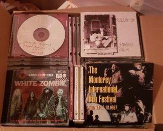 vintage rock CDs
